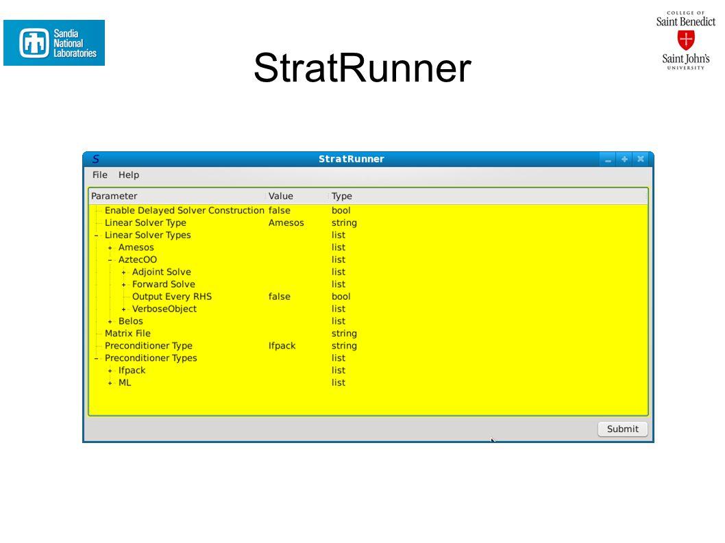 StratRunner
