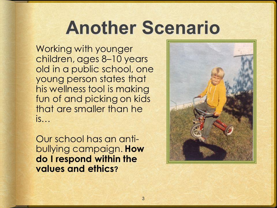 Scenarios From You? 4