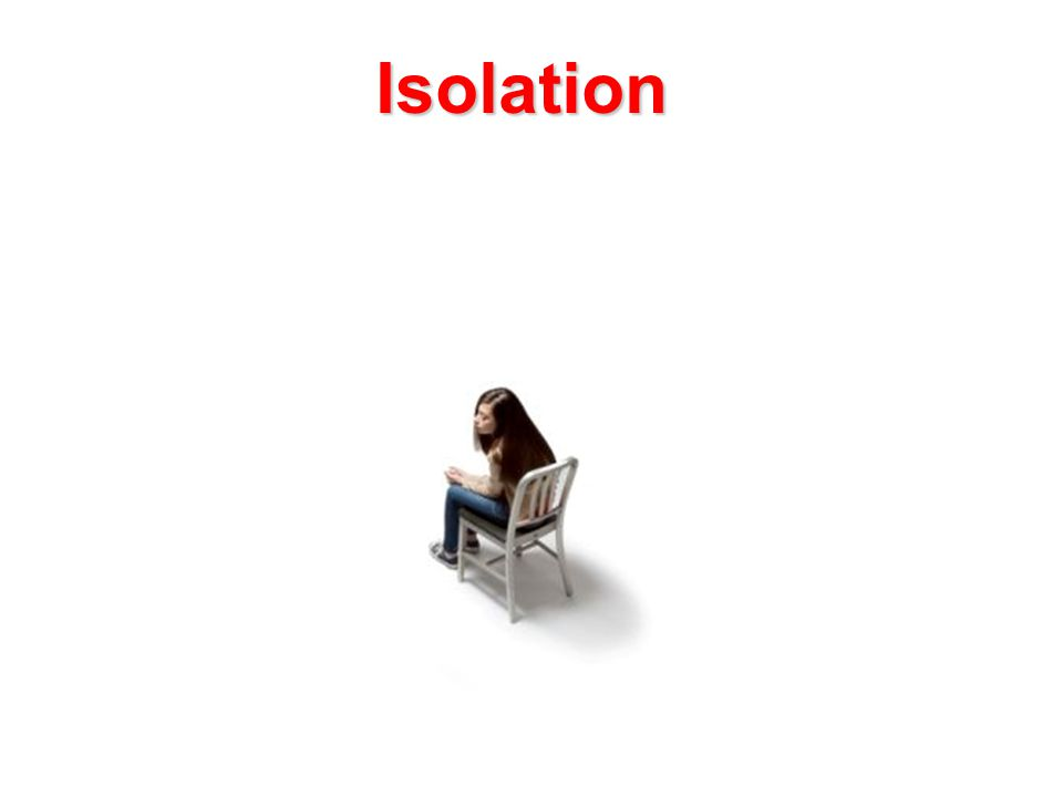 Isolation Isolation