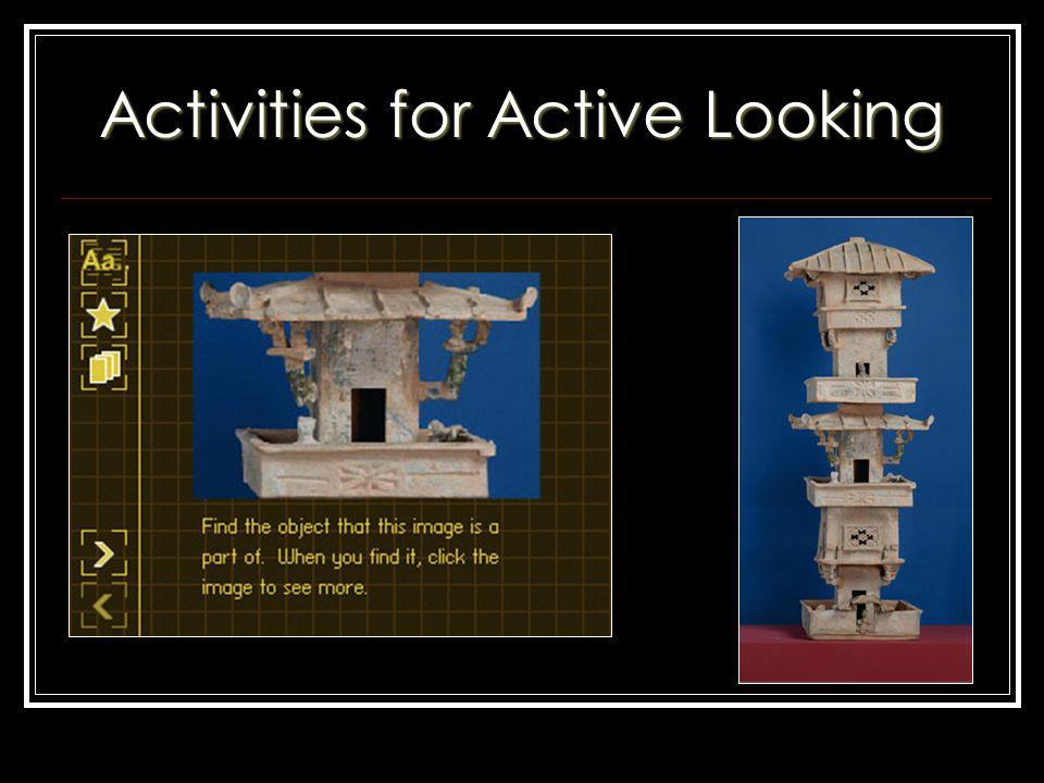 Activities for Active Looking