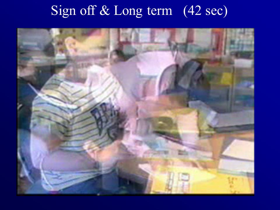 Sign off & Long term (42 sec)
