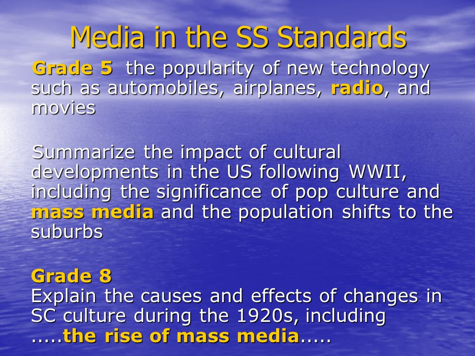 Propaganda: ELA (draft) standards 6-2.9 Recognize propaganda techniques such as bandwagon and testimonials.