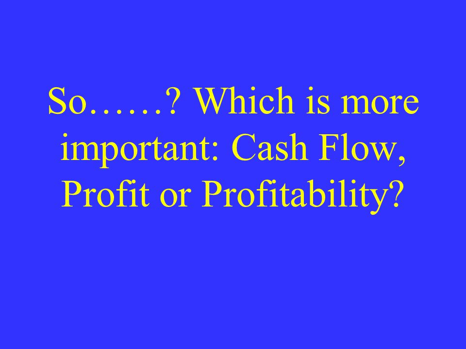 PROFITABILITY INCOME STATEMENT SALES TOTAL COST COST OF SALES SELLING EXP ADMIN EXP ASSET S BALANCE SHEET ROA% CASH RECEIV- ABLES INVENTORY PLANT & EQUIP PAYABLES & ACCRUALS NOTES & BONDS COMMON STOCK RETAINED EARNINGS CREDITORS OWNERS ROE% NET INCOME ROS%
