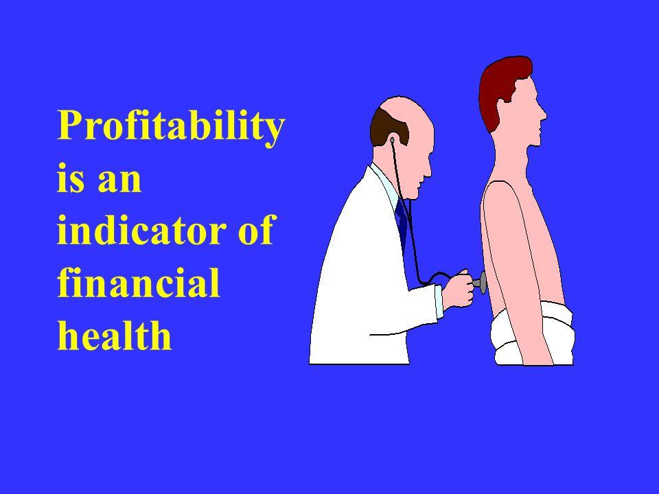 Profit vs. Profitability