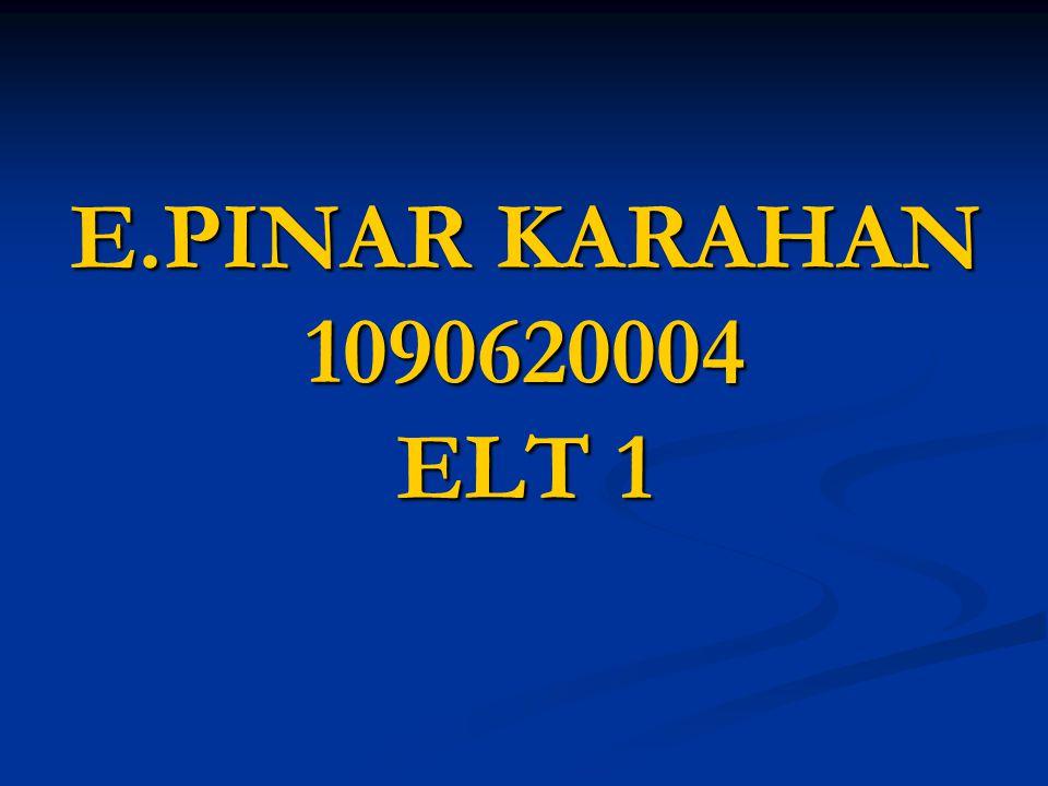 E.PINAR KARAHAN 1090620004 ELT 1