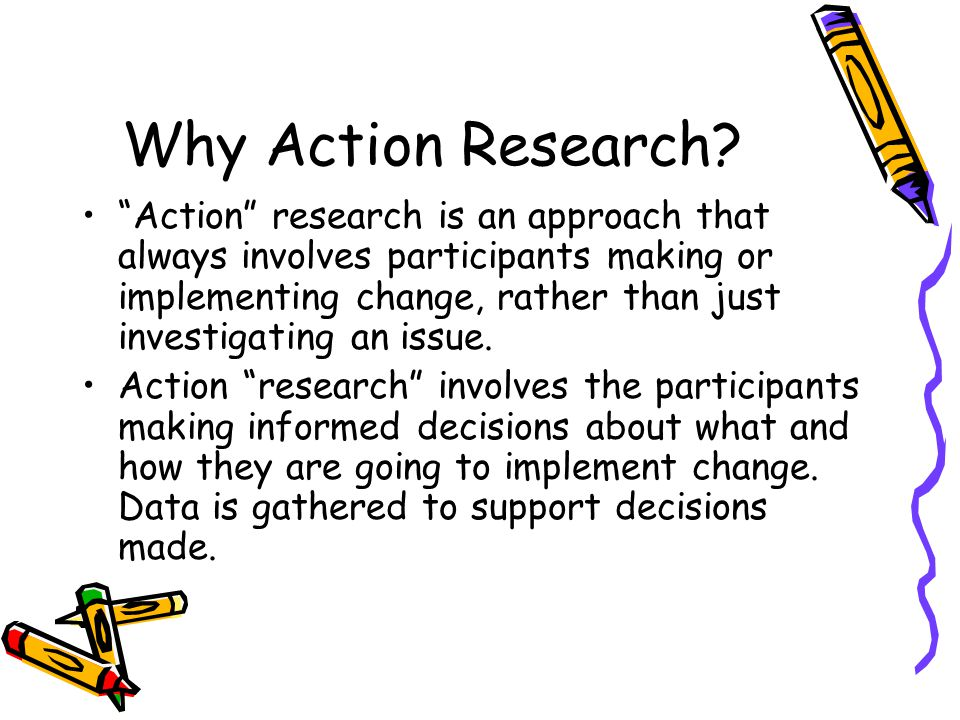 Term One Action research process 1.Identify an area of focus, 2.