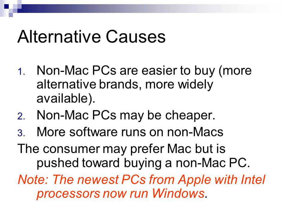 Alternative Causes 1.