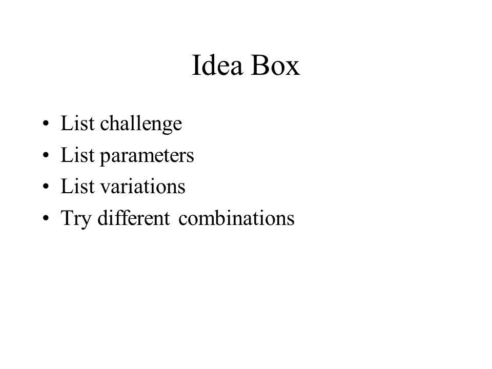 Idea Grid FCB Grid by Richard Vaughn, of advertising firm Foote, Cone, & Belding.