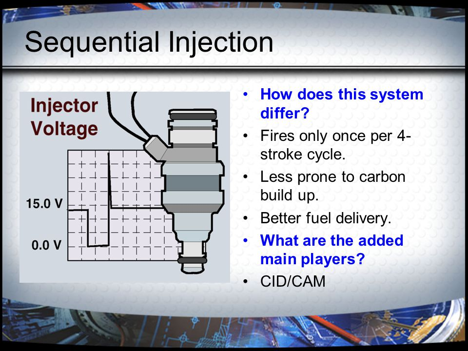 Injector Testing Procedures Drop/Leakage What are the various ways to achieve these tests.