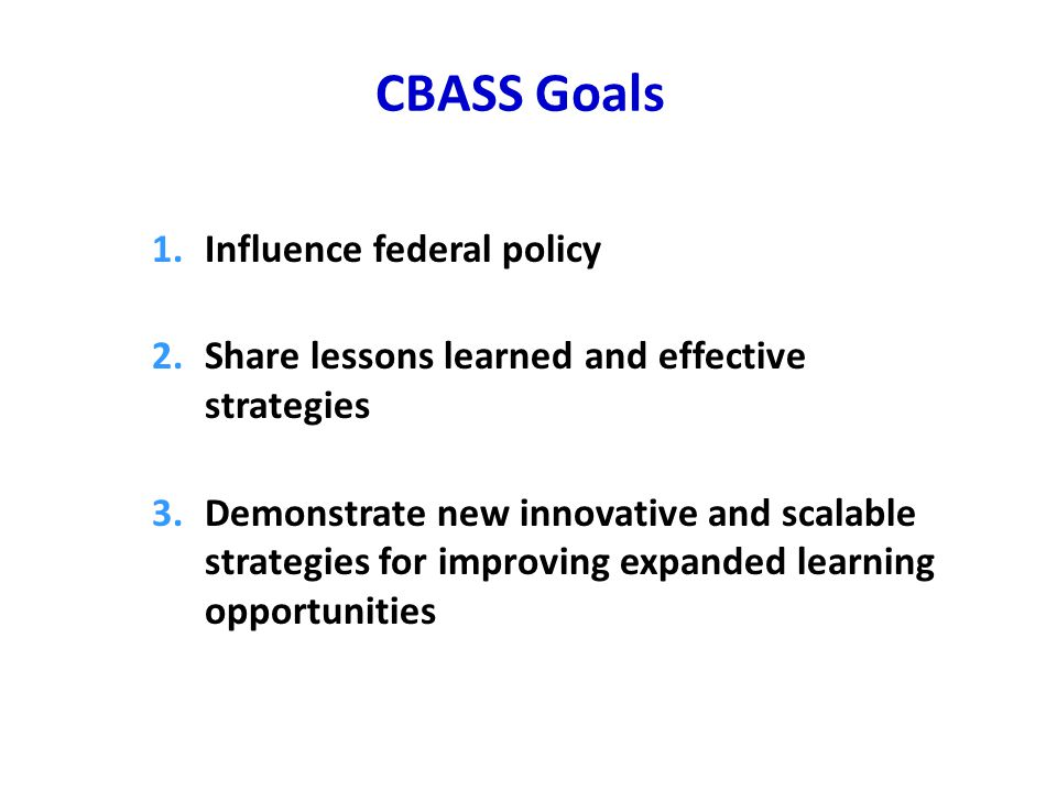 Roles: TASC as Intermediary Provide initiative leadership and oversight Develop resources Make grants for expanded learning Facilitate joint planning Provide technical assistance and professional development to ensure fidelity and sustainability Evaluate the initiative Advocate for resources and policies that support ELT