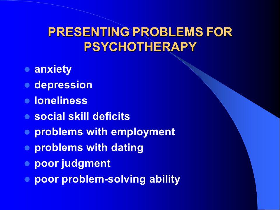 ASSESSMENT OF COGNITIVE FACTORS What cognitive deficits are maintaining my client's problem.