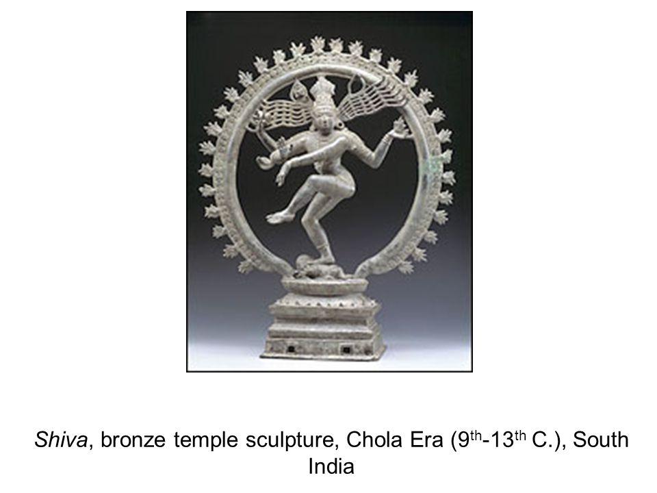 Shiva, bronze temple sculpture, Chola Era (9 th -13 th C.), South India