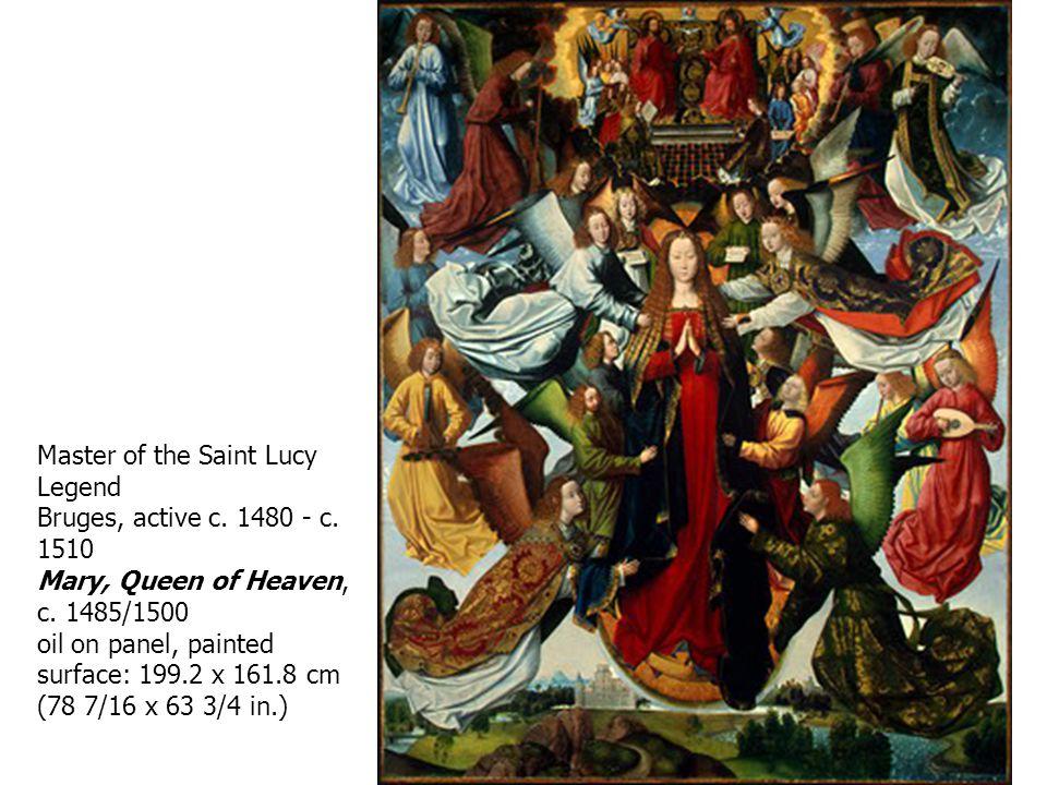 Master of the Saint Lucy Legend Bruges, active c. 1480 - c.