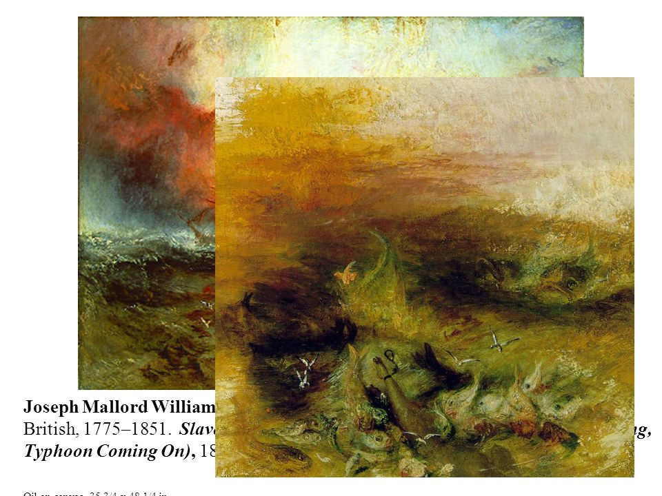 Joseph Mallord William Turner British, 1775–1851.