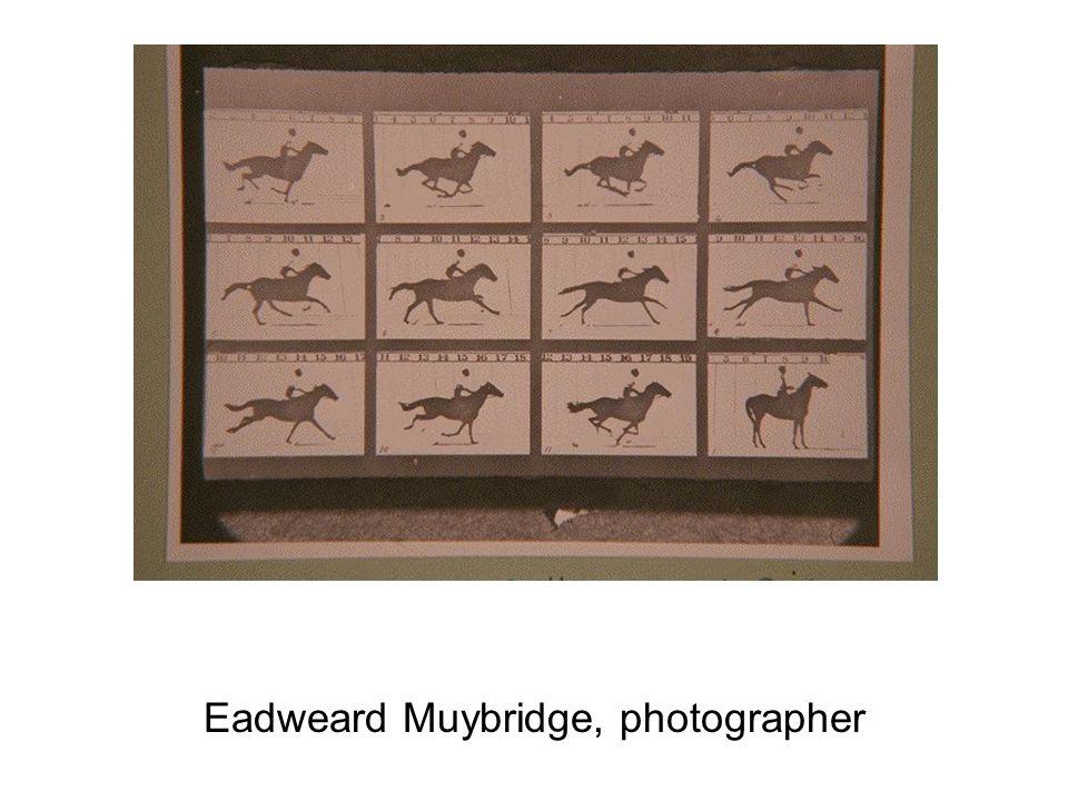 Eadweard Muybridge, photographer