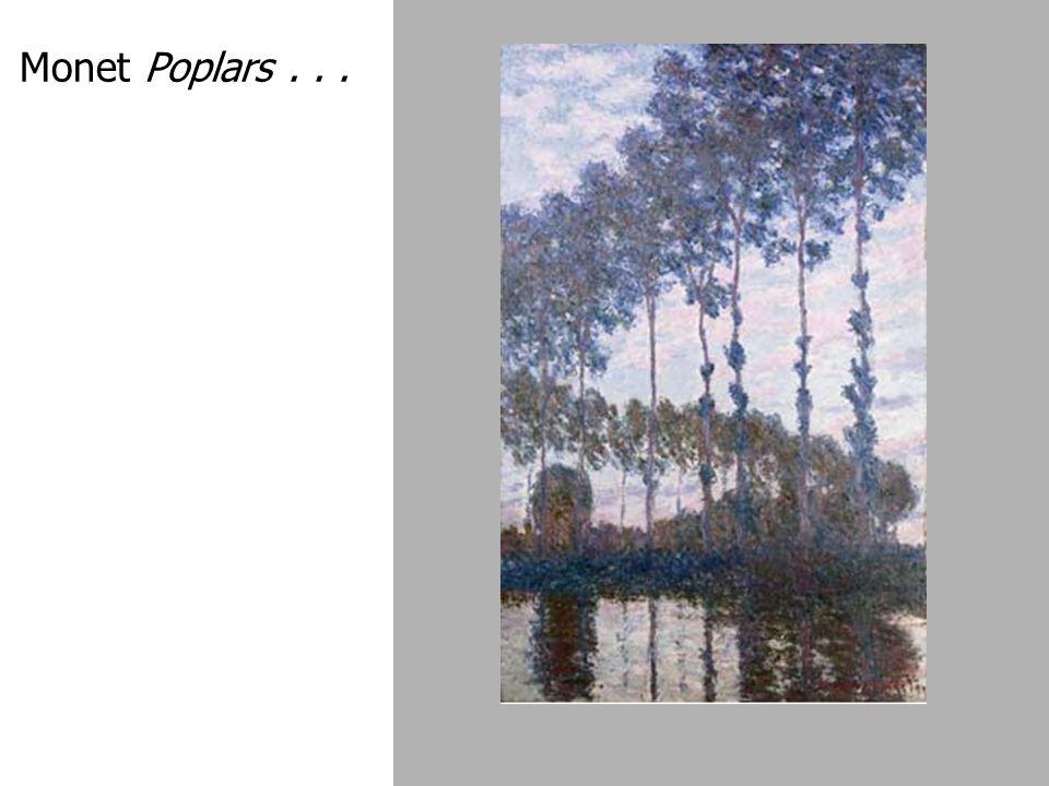 Monet Poplars...