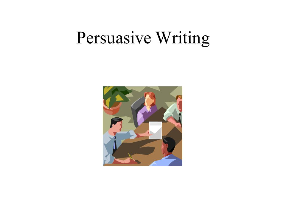 Hamburger Model for Persuasive Writing (primary) Introduction (State an opinion.) Conclusion Reason