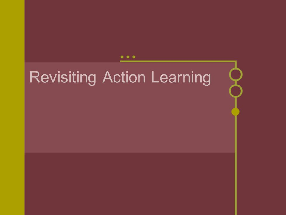 Revisiting Action Learning