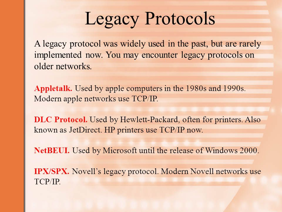 TCP/IP Stands for Transmission Control Protocol/Internet Protocol.
