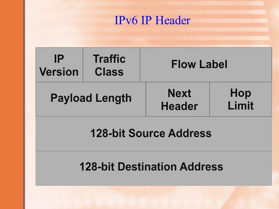 IPv6 IP Header