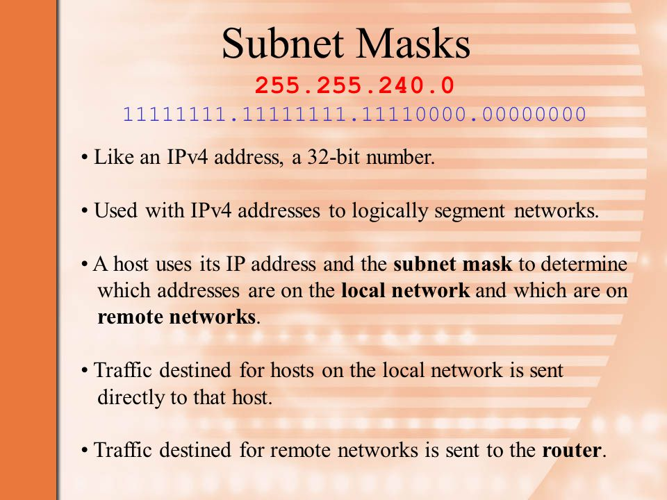 Network Address Translation Where one public IP address (one that is unique to the Internet) is shared by hosts on the private network.