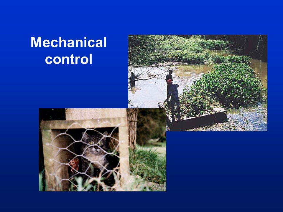 Mechanical control