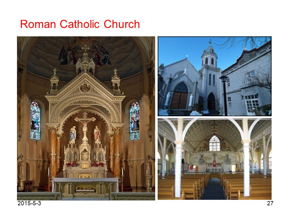 Roman Catholic Church 2015-5-327