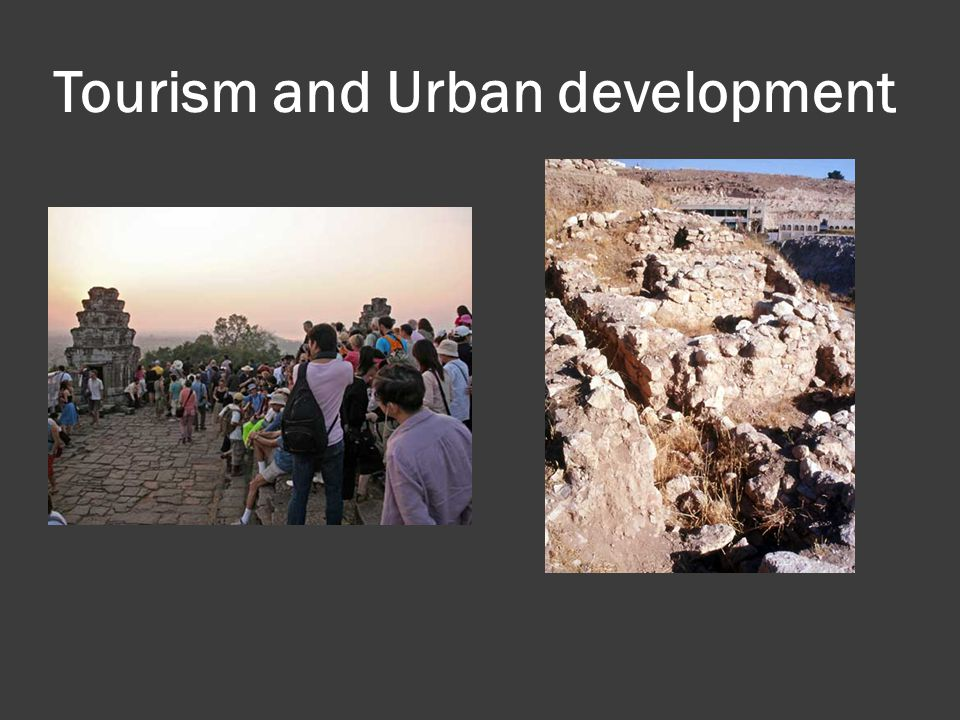 Tourism and Urban development