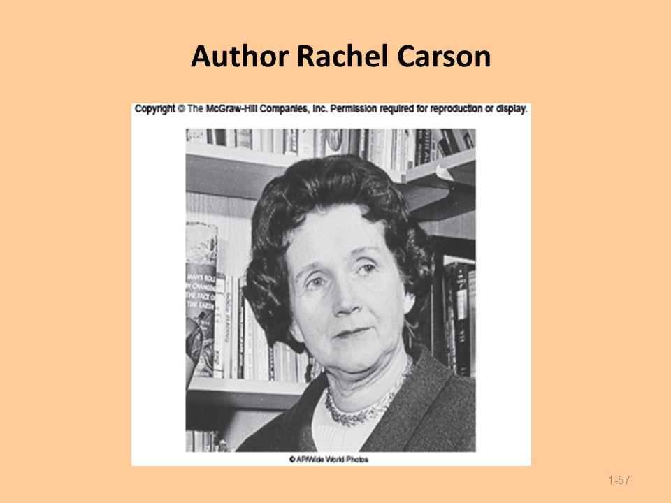 Author Rachel Carson 1-57