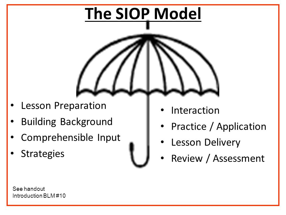 LCPS Professional Development - 2007 What does SIOP stand for.