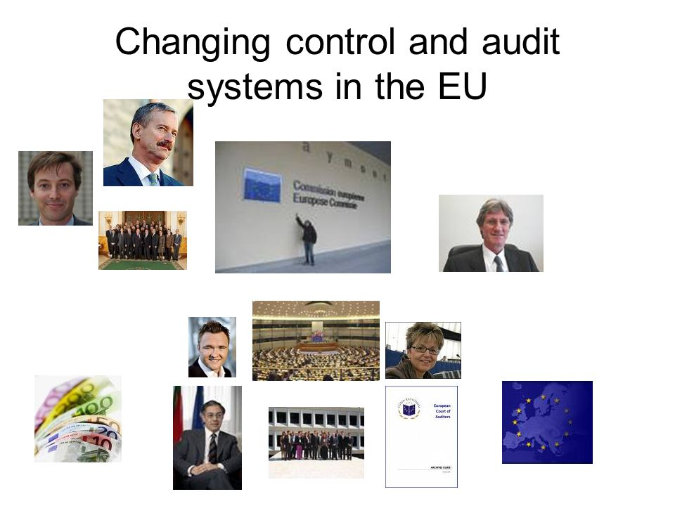 Changing control and audit systems in the EU