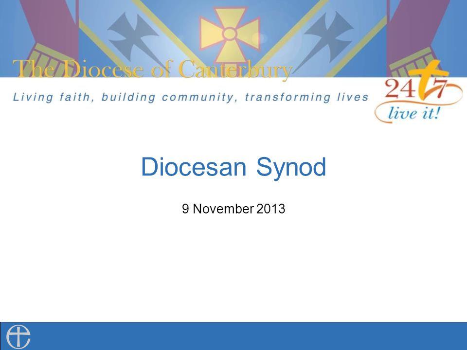 Diocesan Synod 9 November 2013