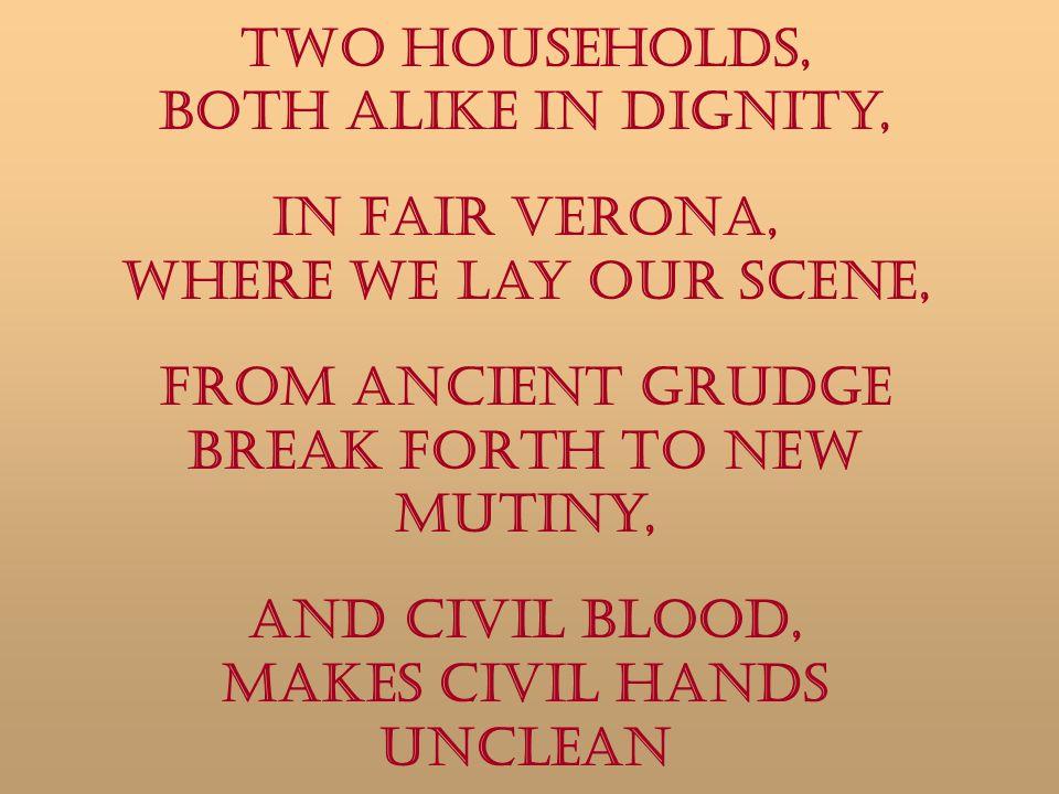 And civil blood, Makes civil hands unclean