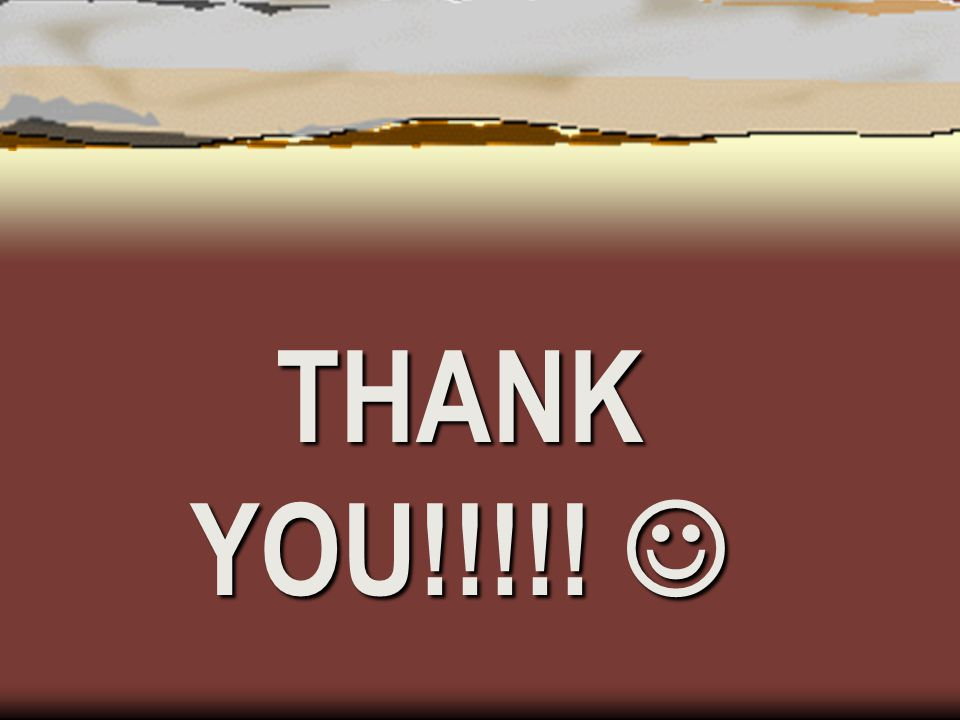 THANK YOU!!!!! THANK YOU!!!!!