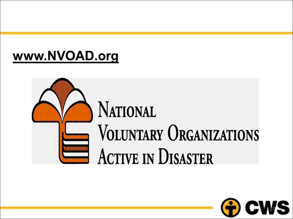 www.NVOAD.org 27