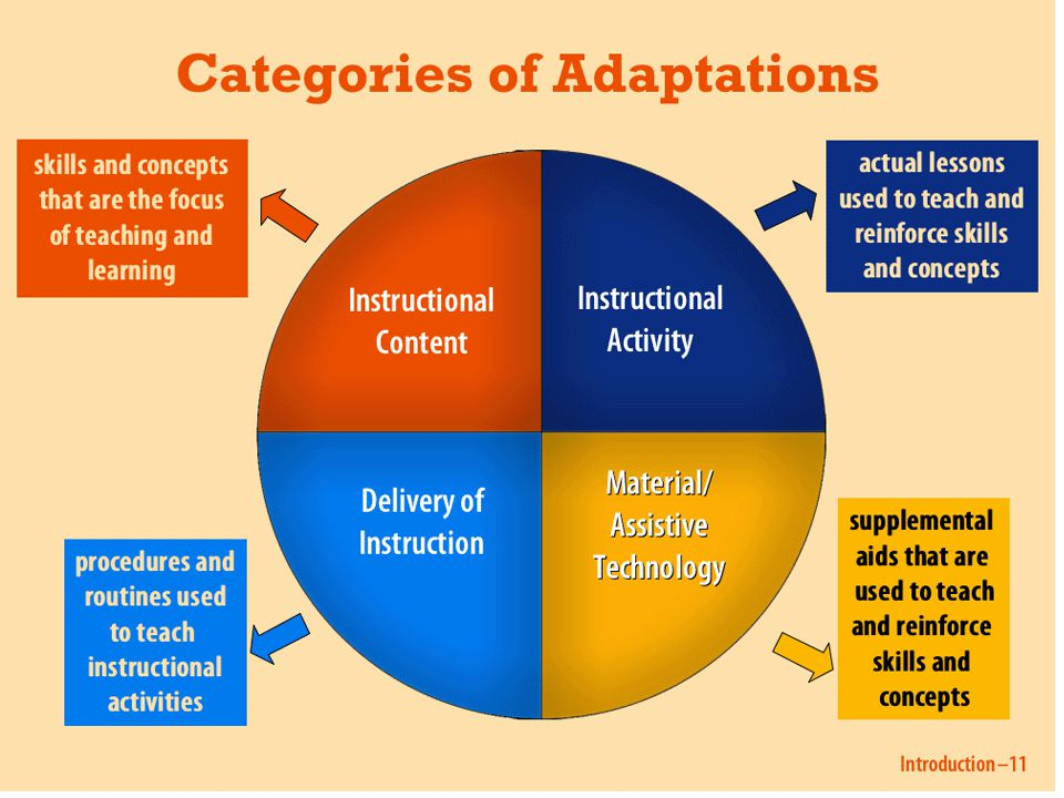 Adaptations Framework Worksheet Task: HO p.