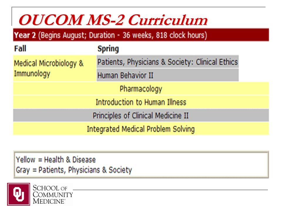 OUCOM MS-2 Curriculum