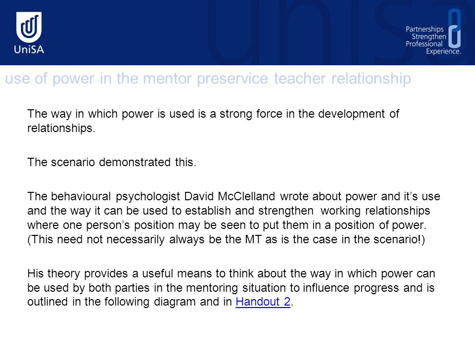 The way in which power is used is a strong force in the development of relationships.