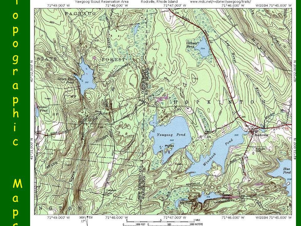 Topographic MapsTopographic Maps