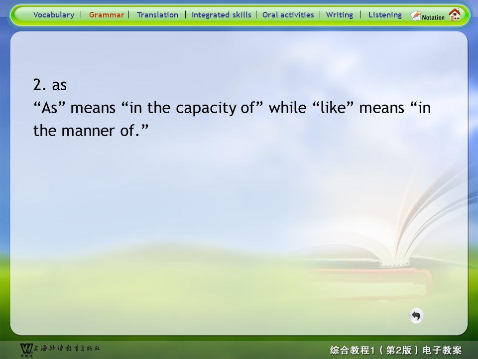 Consolidation Activities- Grammar2.6 6.