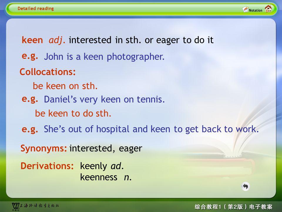 demanding adj.needing a lot of ability, effort, or skill Detailed reading1-- demanding e.g.
