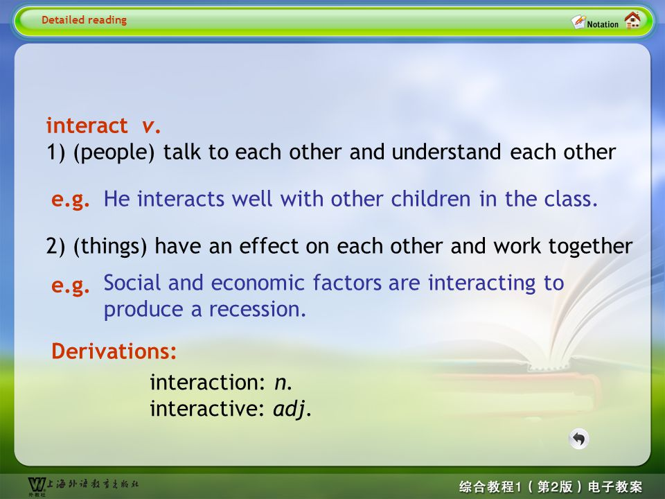 negotiate v.discuss sth. in order to reach an agreement, esp.