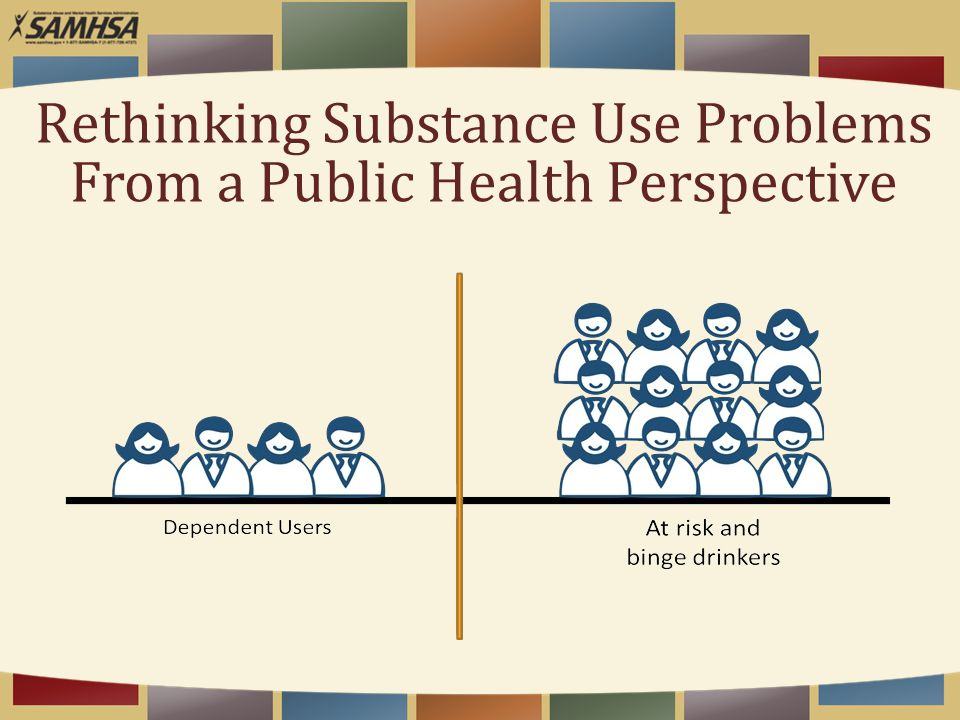 Rethinking Substance Use Problems From a Public Health Perspective