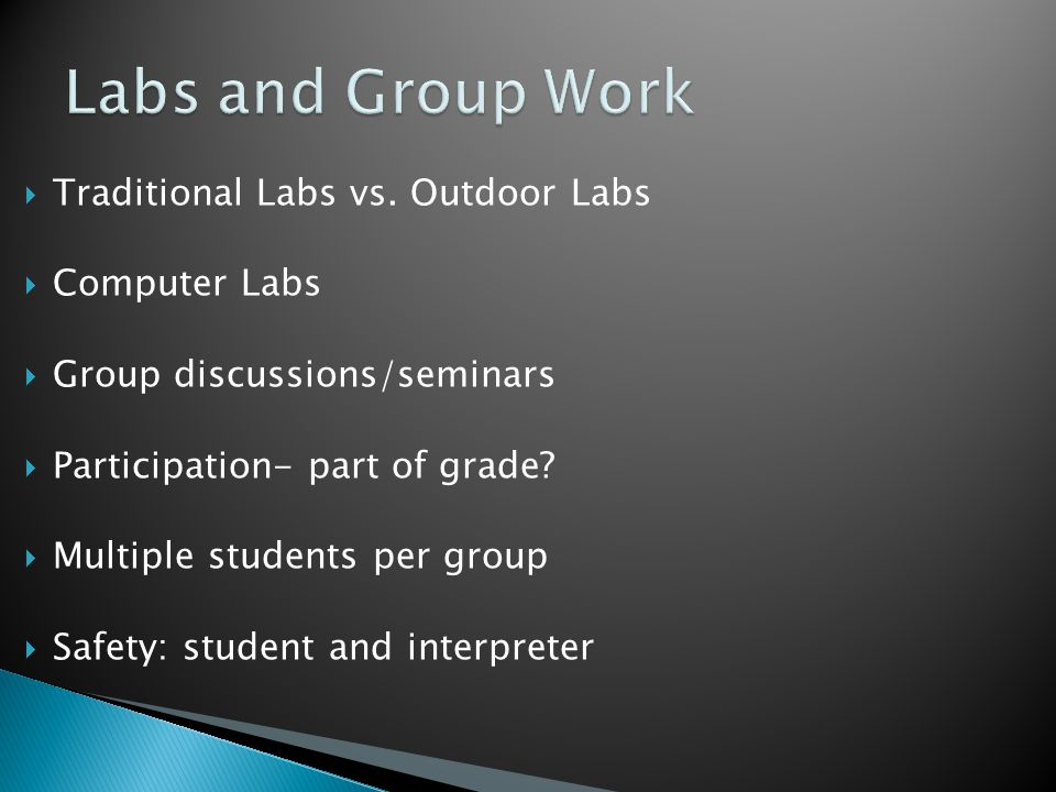  Traditional Labs vs.