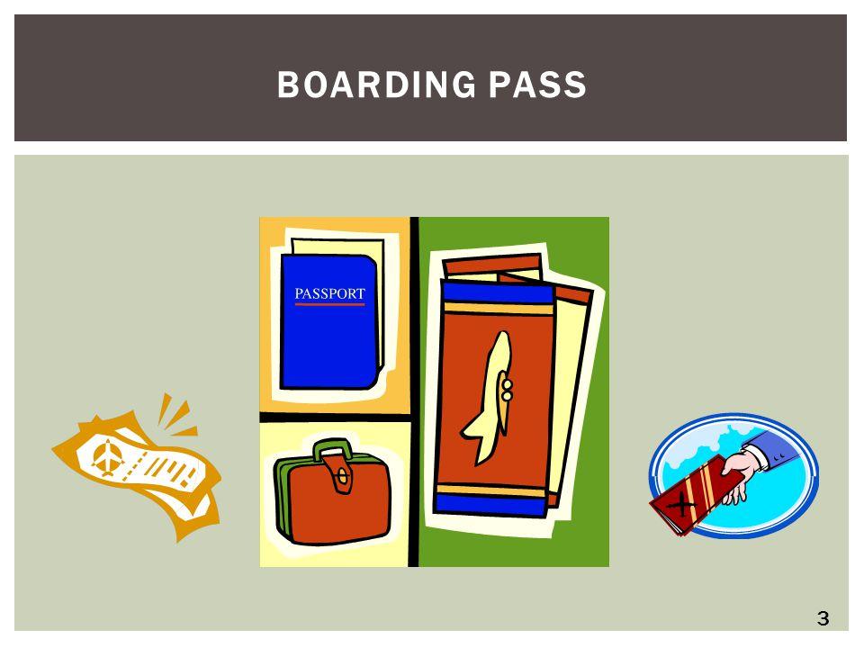 BOARDING PASS 3