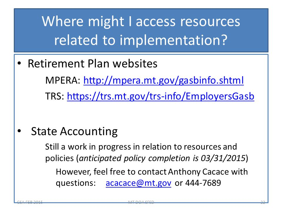 Where might I access resources related to implementation.