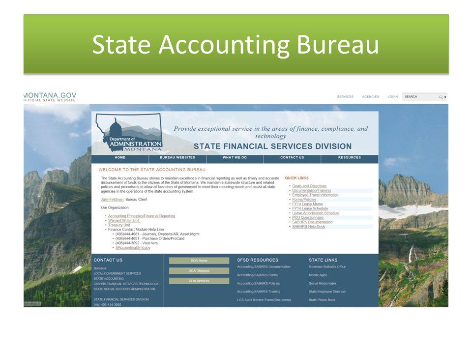 State Accounting Bureau