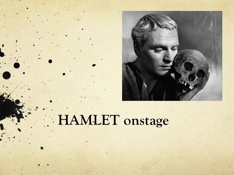 HAMLET onstage