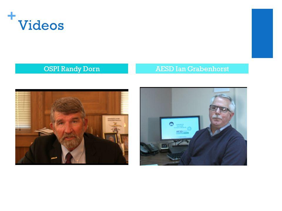 + Videos OSPI Randy DornAESD Ian Grabenhorst