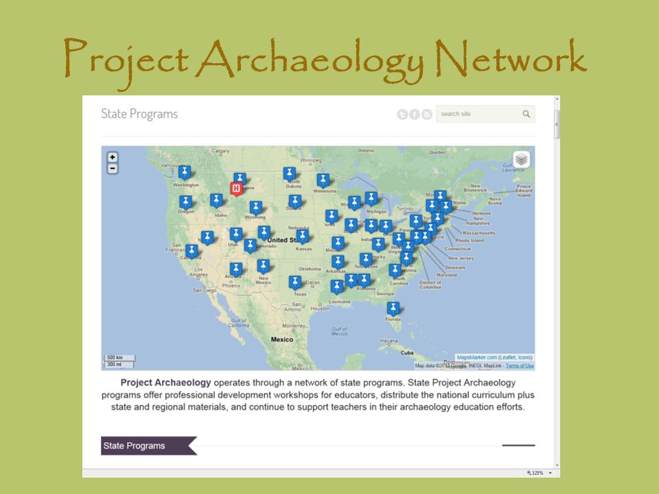 Project Archaeology Network